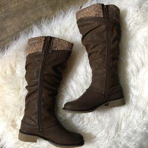 Brown Muk Luk Brianna Boots